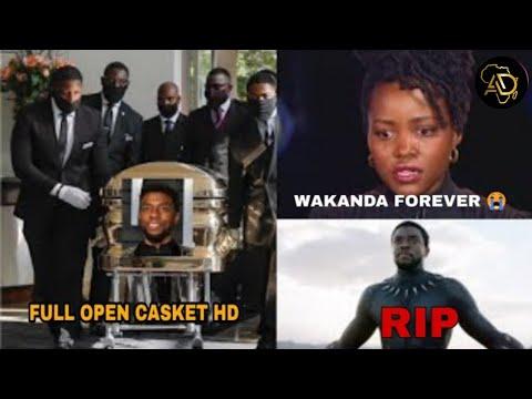 The Sad Funeral of Black Panther star Chadwick Boseman(Full Open Casket HD)