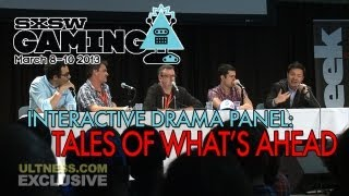 SXSW 2013 - Telltale's Panel: 'Interactive Drama' w/ Special Guests from JOURNEY & THE WALKING DEAD
