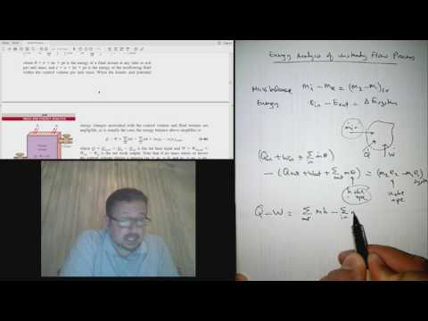 T51 Energy analysis of unsteady-flow processes [S5.5 in Arabic]