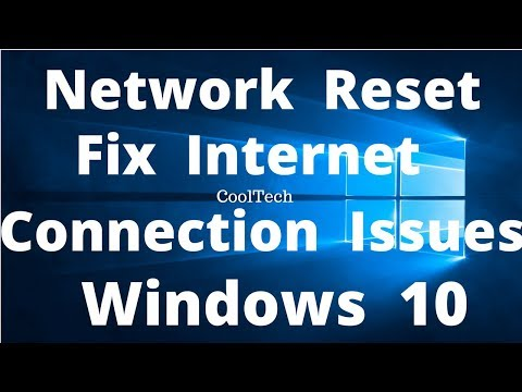 """How to Use """"Network Reset"""" Feature to Fix Common Internet Connection Issues"""