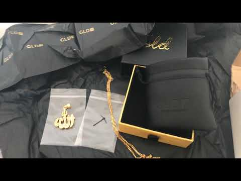 GLD Shop allah pendant and chain review best online jewelry shop!!!
