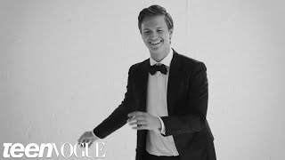 Video Watch Ansel Elgort Dance Through the Decades at His Teen Vogue Cover Shoot MP3, 3GP, MP4, WEBM, AVI, FLV April 2018