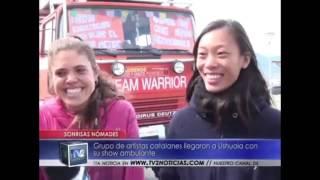 TV2 entrevista en Ushuaia Ene2017