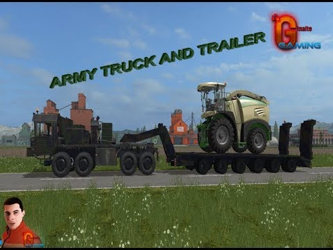 ARMY TRUCK and TRAILER v1.0