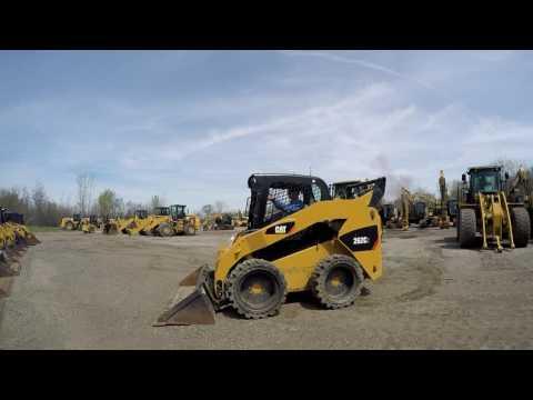 CATERPILLAR SKID STEER LOADERS 262C2 equipment video 1WepIBYNEYA