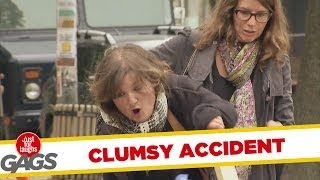 Clumsy Wheelbarrow Accident