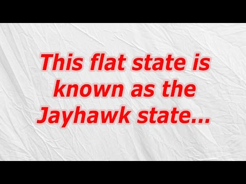 This flat state is known as the Jayhawk state (CodyCross Crossword Answer)