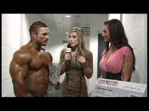 Stacey Thompson hosts this exclusive interview for FLEX Online backstage at the 2011 British Grand Prix with Flex Lewis and his wife Shina after Flex ...