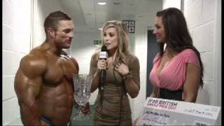 Nonton Exclusive backstage interview with Flex Lewis at the British Grand Prix Film Subtitle Indonesia Streaming Movie Download
