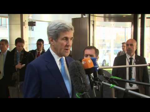 Remarks to Press Upon Arrival at NATO Headquarters