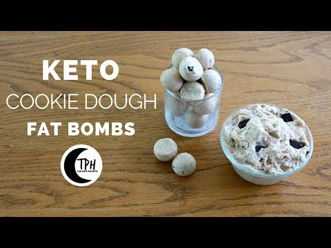 Low carb diet - Keto Cookie Dough Bites  Low-Carb Chocolate Chip Cookie Dough Dip Recipe