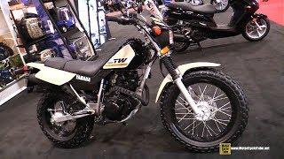 10. 2018 Yamaha TW 200 - Walkaround - 2018 Toronto Motorcycle Show