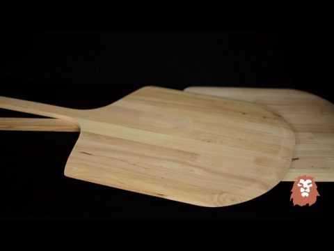 Wooden Pizza Peels Demo by LionsDeal.com
