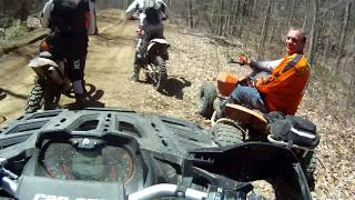 10. CanAm Outlander 1000 XTP - Aggressive Trail Riding