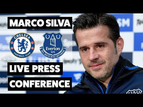 Video: 'THIS IS THE REAL MICHAEL KEANE' | MARCO SILVA'S PRE-CHELSEA PRESS CONFERENCE