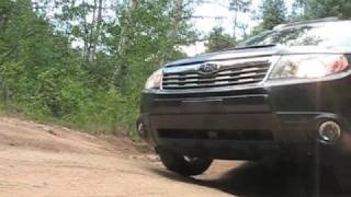 Driving The 2009 Subaru Forester In Santa Fe