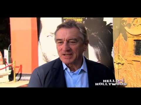 ROBERT DE NIRO AT THE TCL CHINESE THEATER, ON HELLO HOLLYWOOD TV