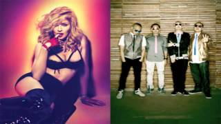 Madonna Ft. Far East Movement - Turn Up The Radio (Remix)