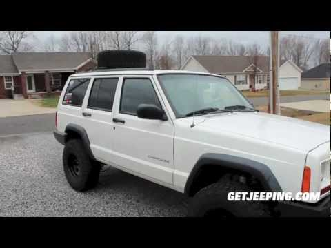 "How To: Install Rough Country 3"" Suspension lift kit on 1984 – 2001 Jeep Cherokee XJ – GetJeeeping"