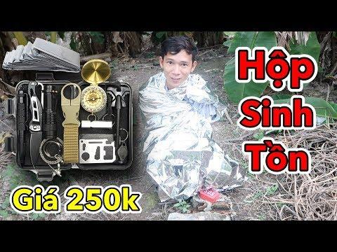 Lâm Vlog - Dùng Thử Hộp Sinh Tồn Trong Rừng Giá 250k | Dụng Cụ Sinh Tồn Trong Rừng - Thời lượng: 12:43.