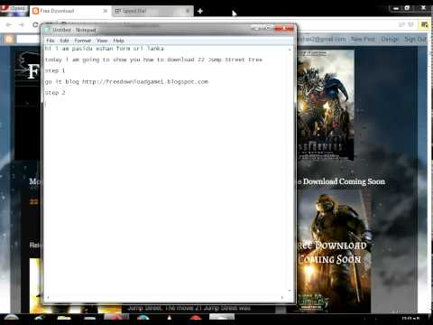 How To Free Download 22 Jump Street Free