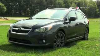 2012 Subaru Impreza Test Drive&Car Review With Emme Hall By RoadflyTV