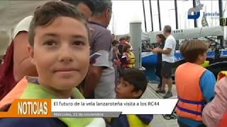 El futuro de la vela conejera visitan a los RC44