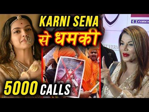 Rakhi Sawant Gets 5000 Calls From Karni Sena For S
