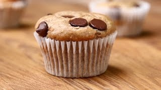 Banana Chocolate Chip Muffins by Tasty