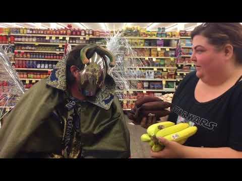 Alien meets  produce