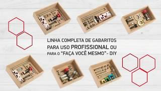 Gabaritos Zinni - Uma verdadeira marcenaria portátil