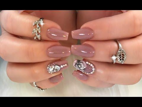 Modelos de uñas - Uñas Elegantes y Sencillas
