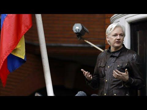 Großbritannien: WikiLeaks-Gründer Assange wurde in Lo ...