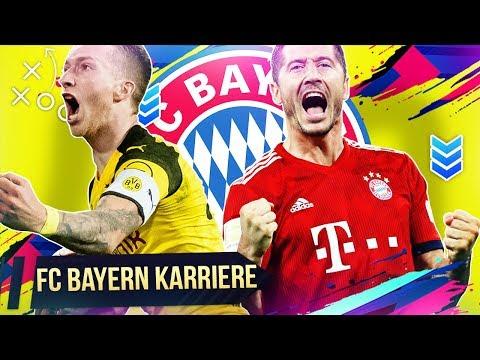 FIFA 19 Gegen den BVB das schwerste Spiel der Karriere | FC Bayern Karrieremodus 🏆13 Sumas