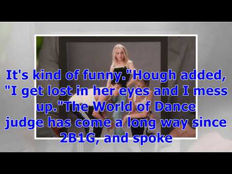 °Derek Hough Recalls Dancing for Simon Cowell With Sister Julianne Before They Were Famous   Ente...