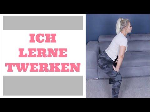 ICH LERNE TWERKEN | How to Twerk | LENA LIBEL (видео)