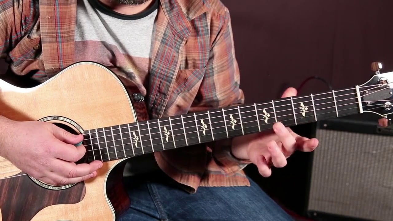 4 MUST KNOW Acoustic Blues Guitar chords