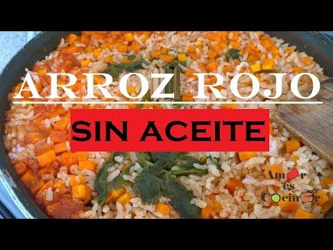 Arroz Rojo SIN ACEITE /Red Rice WITHOUT OIL