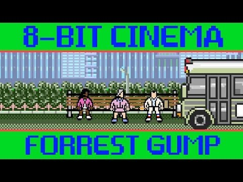 GUMP - CineFix presents Forrest Gump retold via old-school 8-bit (and 16 bit ;) game tech. Today, life is like an old-school video game! Subscribe to CineFix - http...