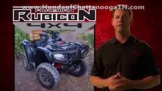 1. 2016 Foreman Rubicon 500 ATV Review / Specs & Changes + MORE! Honda of Chattanooga 4x4 Four Wheelers
