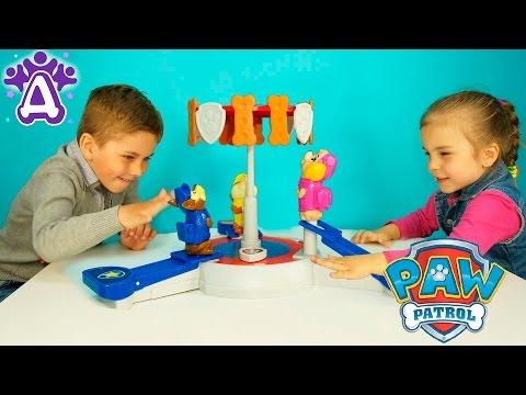 Щенячий патруль игра для детей распаковка PAW Patrol game for kids unpacking Розыгрыш игры для детей (видео)
