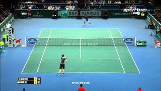 Tennis Highlights, Video - [HD]Diễn biến trận đấu giữa Djokovic vs Murray Paris 2014