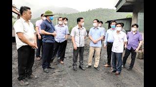 Phó Chủ tịch Thường trực UBND tỉnh Cao Tường Huy kiểm tra thực địa và nghe báo cáo kết quả thực hiện đồng xử lý chất thải công nghiệp thông thường tại Nhà máy xi măng Lam Thạch