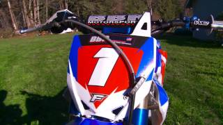 9. BBR Motorsports Perimeter framed Yamaha TTR150 Project