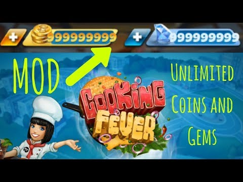 Cooking Fever MOD ★ Unlimited Coins And Gems ★ Latest Version