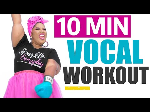 10 Minute Daily VOCAL WORKOUT! Vocal Exercise (subtitles)