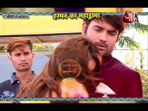 Shakti: SHOCKING! Harman CUTS HIS HAND For Saumya!