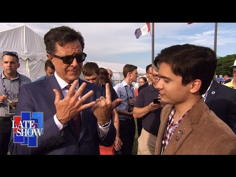 Stephen Colbert Plays Trump or False With RNC