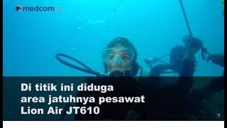 Video Exclusive: Suasana di Kedalaman 29 Meter di Titik Diduga Lokasi Jatuhnya Pesawat Lion Air JT610 MP3, 3GP, MP4, WEBM, AVI, FLV November 2018