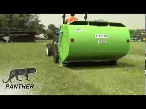 Flail collection mower PANTHER